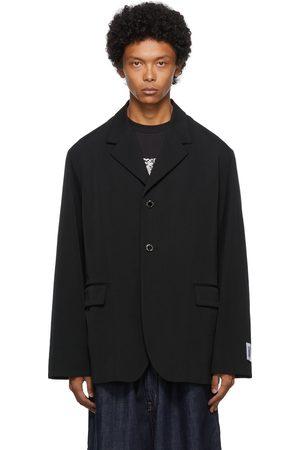 Fumito Ganryu Men Blazers - Wool Flattened Blazer