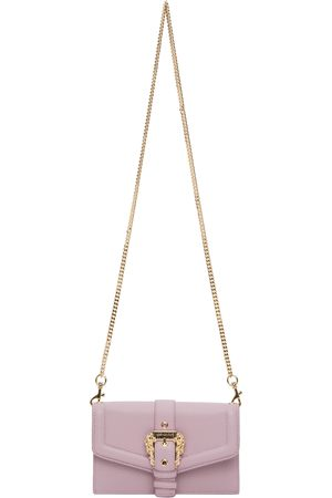 VERSACE Women Wallets - Purple Couture 1 Chain Wallet