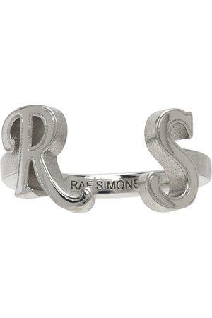 RAF SIMONS Men Rings - RS Ring