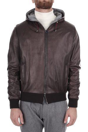 BARBA Men Leather Jackets - Leather Jackets Men Pelle