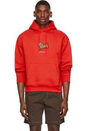 Jacquemus Men Hoodies - Red La Montagne 'Le Sweatshirt Pistoun' Hoodie