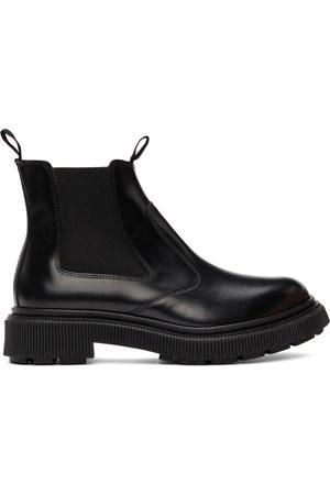 ADIEU PARIS Men Chelsea Boots - Black Type 156 Chelsea Boots