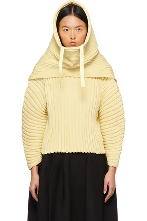 CFCL Women Beanies - Yellow Column Snood Beanie