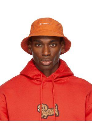 Jacquemus Men Hats - Orange La Montagne 'Le Bob Picchu' Bucket Hat