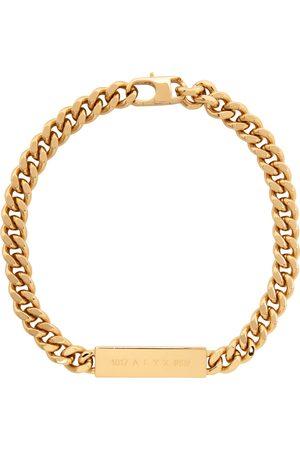 1017 ALYX 9SM Men Necklaces - Gold ID Necklace