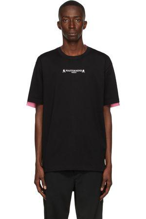 MASTERMIND Men T-shirts - Black & Pink 2 Color T-Shirt