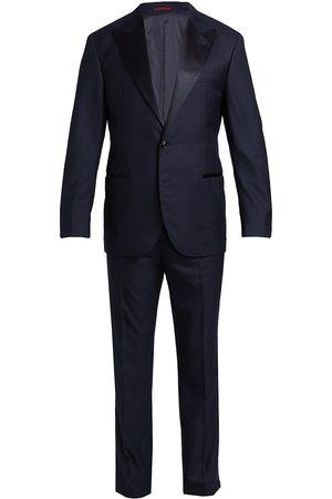 Brunello Cucinelli Men Gloves - Four Season Wool Tuxedo