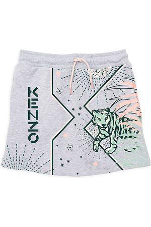 Kenzo Girls Printed Skirts - Little Girl's & Girl's Iconic Printed Fleece Skirt