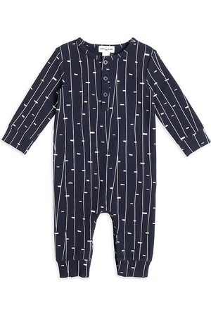 Miles Baby Baby Nightdresses & Shirts - Baby Boy's Miles Playwear Autumn AOP Coveralls