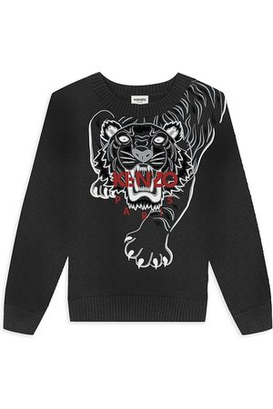 Kenzo Sweatshirts - Little Boy's & Boy's Front-To-Back Tiger Sweater