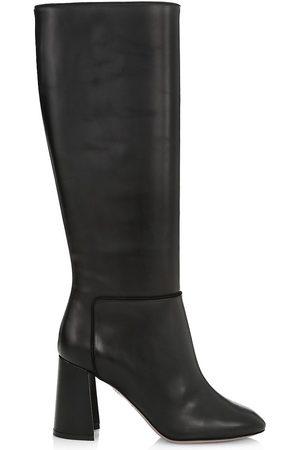 Aquazzura Women Thigh High Boots - Portland Knee-High Calfskin Boots