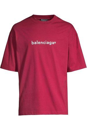 Balenciaga Men T-shirts - New Copyright Jersey T-Shirt