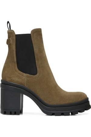 VERONICA BEARD Women Ankle Boots - Winnie Suede Ankle Boots