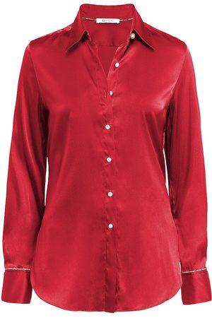 Robert Graham Women Shirts - Gabriela Silk-Blend Shirt