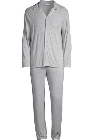 Eberjey Men Pajamas - William 2-Piece Piped Pajama Set