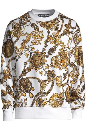 VERSACE Men Sweatshirts - Regalia Baroque Crewneck Sweater