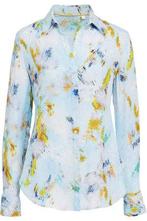 Robert Graham Women Shirts - Gabriela Mosiac Print Shirt