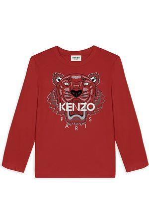Kenzo Long Sleeve - Little Boy's & Boy's Long Sleeve Tiger Tee