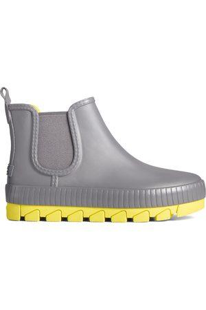 Sperry Top-Sider Women Rain Boots - Women's Sperry Torrent Pop Chelsea Rain Boot Grey/ , Size 7.5M