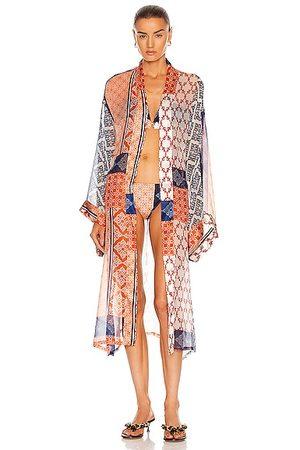 Silvia Tcherassi Women Bathrobes - Belmonte Robe in Orange