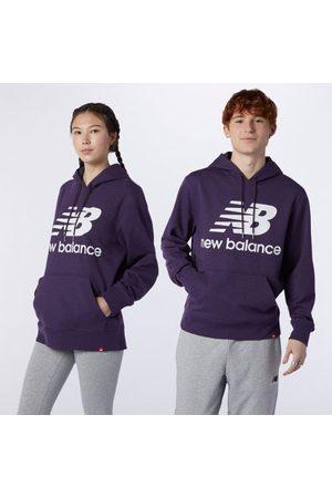 Men Hoodies - New Balance Men's NB Essentials Stacked Logo Po Hoodie