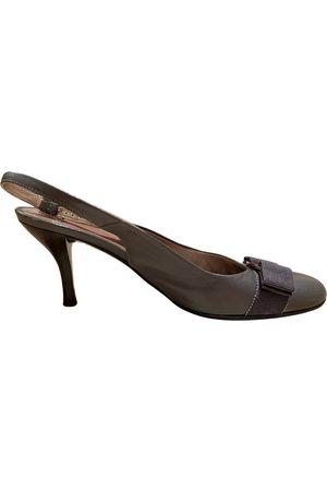 Salvatore Ferragamo Women High Heels - Leather heels