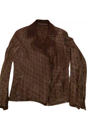 SALVATORE SANTORO Leather short vest