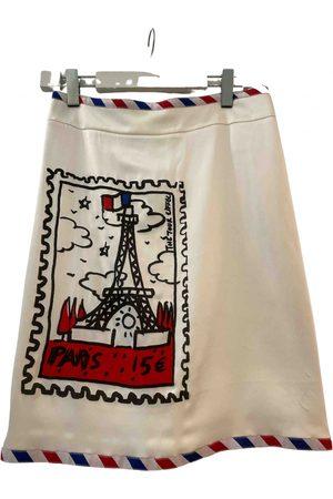 JC DE CASTELBAJAC Silk mid-length skirt