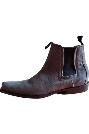 STÉPHANE GONTARD Stéphane Gontard Leather boots