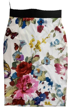 Dolce & Gabbana Silk mid-length skirt