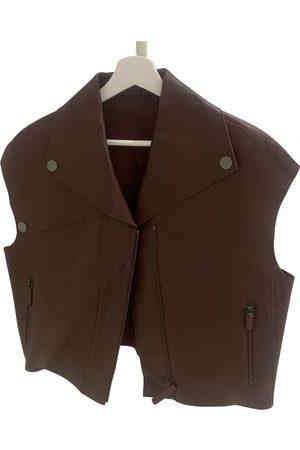 Longchamp Leather biker jacket