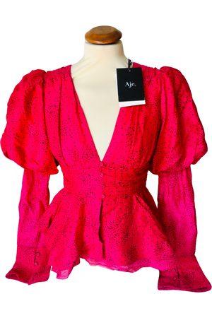 AJE Women Shirts - Silk shirt