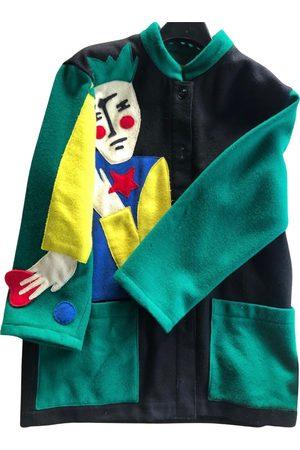 JC DE CASTELBAJAC Wool peacoat