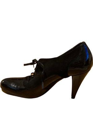 La Perla Patent leather lace up boots