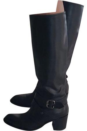 Nero Giardini Leather western boots