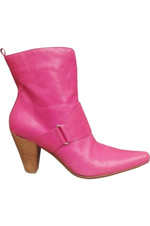 SARTORE Leather western boots