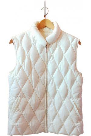 Moncler Women Cardigans - Sleeveless cardi coat