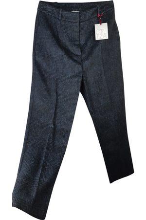 Stella Jean Wool straight pants
