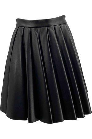 DAVID KOMA Women Mini Skirts - Leather mini skirt