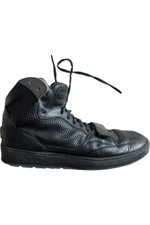 Dior B22 leather high trainers