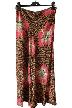 RIXO London Silk mid-length skirt