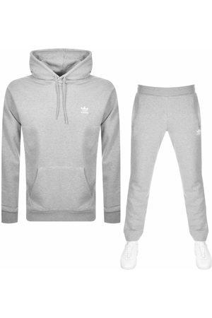 adidas Men Tracksuits - Essential Tracksuit Grey