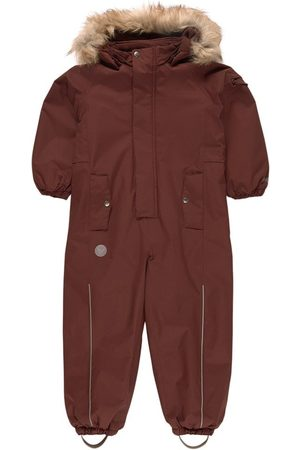 WHEAT Ski Suits - Maroon Moe Tech Snowsuit - 104 (4 years) - - Winter coveralls