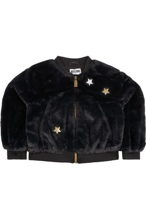Moschino Kids - Bear Star Bomber Jacket - 4 years - - Bomber jackets