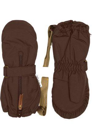 Mini A Ture Ski Accessories - Kids - Cesar Gloves M Dark Choco - 6-12 Months - - Ski gloves and mittens