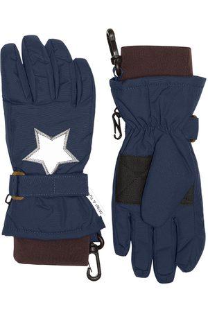 Mini A Ture Kids - Celio Gloves K Nights - 4-5 Years - Navy - Ski gloves and mittens
