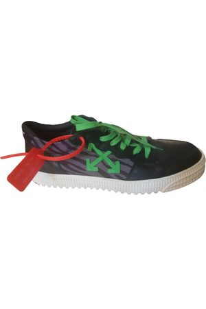 OFF-WHITE Leather low trainers