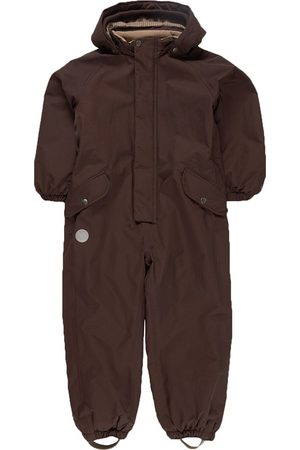 WHEAT Espresso Miko Tech Snowsuit - 104 (4 years) - - Winter coveralls