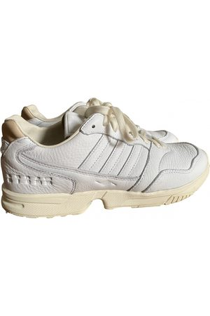 adidas ZX leather low trainers