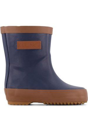 Kuling Kids Rain Boots - Navy Oslo Rubber Boots - 20 EU - Navy - Wellingtons